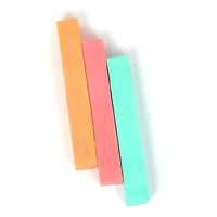 Hair Chalk - Full Size Sticks - Aztec Trio - Temporary Hair Color - Gifts Under 20 - Trendy Hair