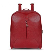 Backpacks Fashion Small Girl Ladies PU Leather Casual Style Backpack Zipper School Bags Backpack Women