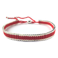 Red Metal Choker
