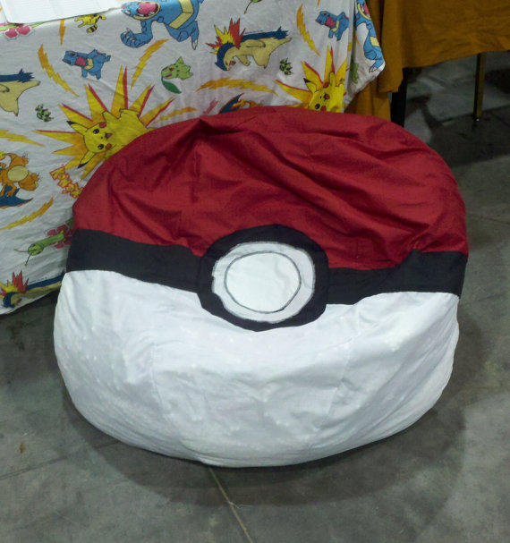 Pokeball Bean Bag Chair From Demidesignz On Etsy Guy Gifts