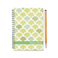 Weekly planner, 12 month 2015-2016 planner calendar, customize with your name, daily planner, custom gift idea for her, SKU: pl circles