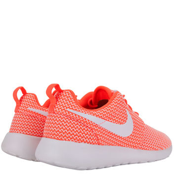 Nike Womens Roshe Run - Hot Lava White