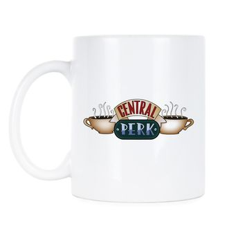 Central Perk Coffee Mug Friends Coffee Mugs Funny Cute TV Show Cups Gift for Best Friend