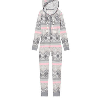 Pom-pom Thermal Onesuit - Victoria's Secret