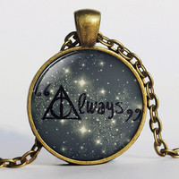 Always Said Snape, Severus Snape, Harry Potter Necklace