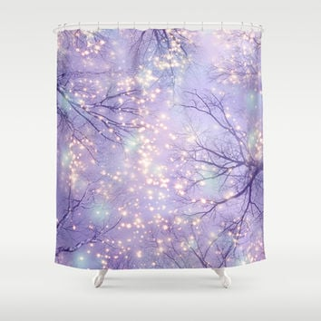 Each Moment of the Year Has It's Own Beauty (Tree Silhouettes) Shower Curtain by soaring anchor designs ⚓   Society6