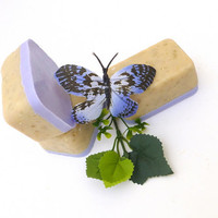 Lilac Goat Milk All Natural Soap, Handmade Soap, Cold Process Soap, Vegan Soap