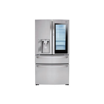 LG 30 cu. ft. 4-Door French Door Refrigerator with InstaView Door-in-Door in Stainless Steel
