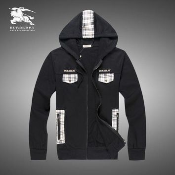 DCCKNY1Q Boys & Men Burberry Cardigan Jacket Coat Hoodie