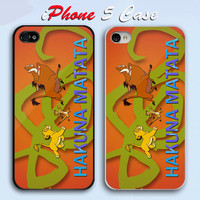 New Design Hakuna Matata Custom iPhone 5 Case Cover