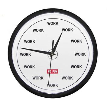 WORK Wall Clock