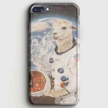 Astronaut Llama Space iPhone 8 Plus Case | casescraft