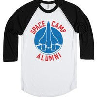 Space Camp Alumni-Unisex White/Black T-Shirt