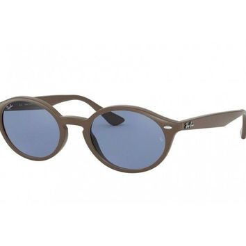 sunglasses Ray Ban oval RB4315 brown blue 638180