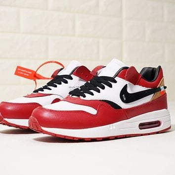 Virgil Abloh OFF white x Nike Air Max 1 OG 537383-122 Size 36-44