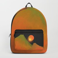 Minimal mountains Backpack by vivianagonzlez
