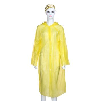 The Boncho Poncho Adult Raincoat with Hood