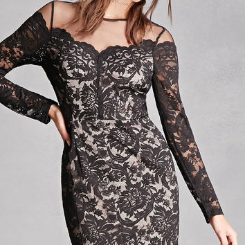 Soieblu Floral Lace Dress
