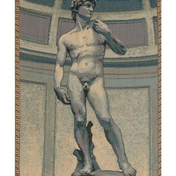 Statue of David Tapestry Wall Hanging