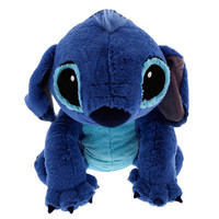 "disney parks authentic 14"" large stitch plush toy new with tags"