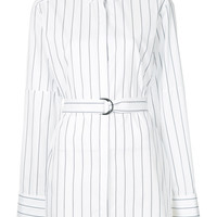 Strateas Carlucci Striped Belted Shirt - Farfetch