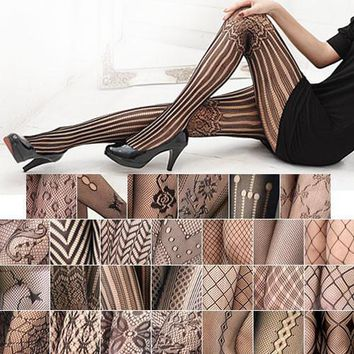 Women's Hosiery SEXY Patterned Tights