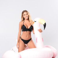 Pink Flamingo Over Sized Pool Float - Pink
