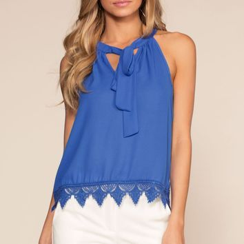 Sweet Company Top - Royal