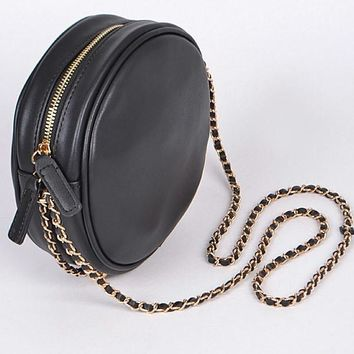 Party Girl Round Purse Black
