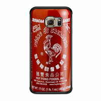 Sriracha Hot Sauce Samsung Galaxy S6 Edge Case