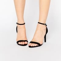New Look Wide Fit Strappy Heel at asos.com