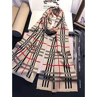 BURBERRY Trending Women Men Stylish Cashmere Cape Scarf Scarves Shawl Accessories