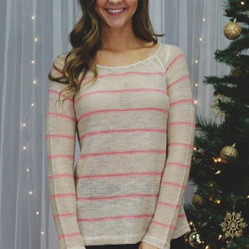 Pink About It Sweater