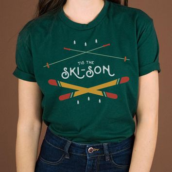 Tis the Ski-son Shirt