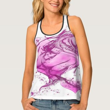 Splash Hearts Tank Top