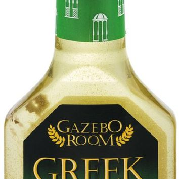 GAZEBO ROOM: Greek Salad Dressing and Marinade, 16 oz