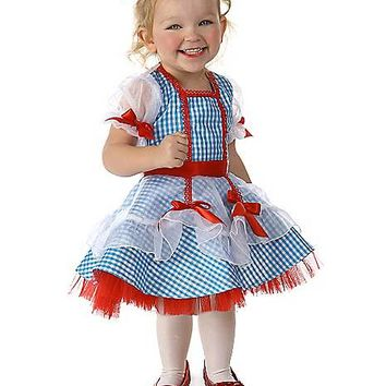 Baby Tulle Dorothy Costume - The Wizard of Oz - Spirithalloween.com