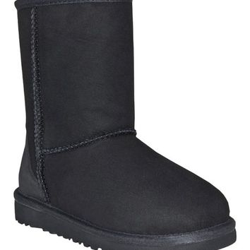 Black Classic Boot - Toddler