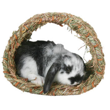 Marshall Small Animal Woven Grass Hide-A-Way Hut | Toys & Habitat Accessories | PetSmart