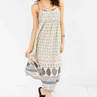Out From Under Libby Midi Slip- Neutral Multi