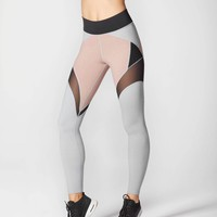 Michi Glacier Legging - Rose Quartz