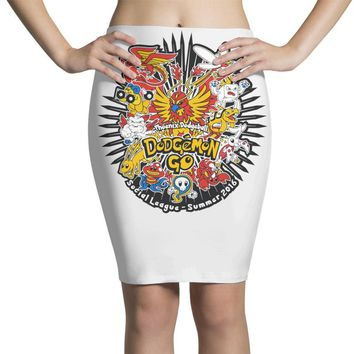pokemon style dodge ball league Pencil Skirts