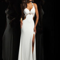 Halter Sweetheart Tony Bowls Le Gala Formal Prom Dress 114511