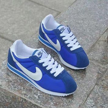nike cortez classic unisex sport casual cloth surface running shoes couple retro sneakers-2