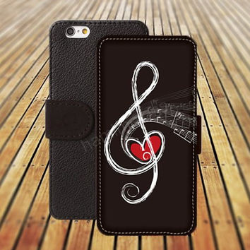 iphone 5 5s case music case heart music iphone 4/4s iPhone 6 6 Plus iphone 5C Wallet Case,iPhone 5 Case,Cover,Cases colorful pattern L339