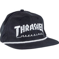 Thrasher Magazine Rope Black / White Hat - Adjustable