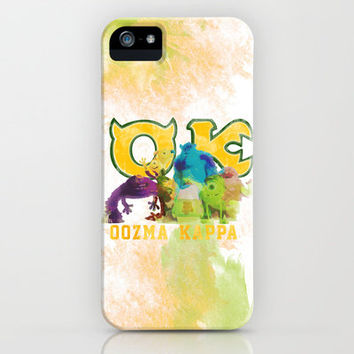 oozma kappa monsters university iPhone & iPod Case by Sara Eshak