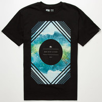 Quiksilver Magic Planet Mens T-Shirt Black  In Sizes