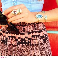 Lois Cocktail Ring in Abalone Gypsy - Kendra Scott Jewelry