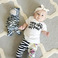 2016 baby girl clothes cotton short-sleeved t-shirt + pants infant 2pcs suit baby girls clothing newborn outfits